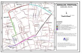 Route Maps by Sinulog 2012 Route Maps U2013 My Cebu Photo Blog