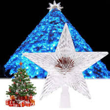 Outdoor Christmas Decorations Star by Outdoor Christmas Tree Topper Lights Suppliers Best Outdoor