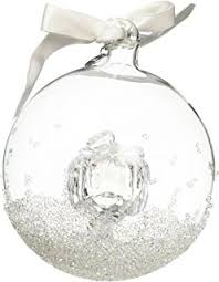 amazon com swarovski christmas ball ornament annual edition 2013