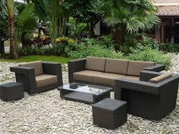 Desig For Black Wicker Patio Furniture Ideas Black Rattan Furniture Patio Design Ideas Backyard Landscape Design