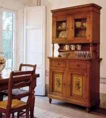 credenze rustiche credenza rustica legno massello vetro