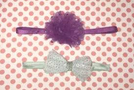 go girl headbands fabric bat hair bow handmade 3 arts crafts in san jose