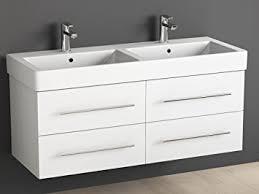 badezimmer waschbeckenunterschrank aqua bagno badmöbel 120 cm inkl keramik doppelwaschtisch