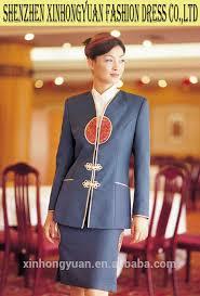 Front Desk Attendant Receptionist Hotel Uniform For Front Desk Staff Receptionist