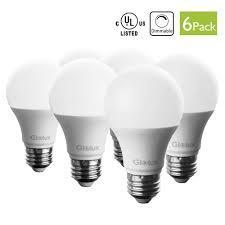 dimmable led light bulbs 60 watt equivalent dimmable led light bulbs glolux us