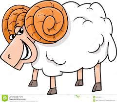 ram farm animal cartoon stock vector image 57916099