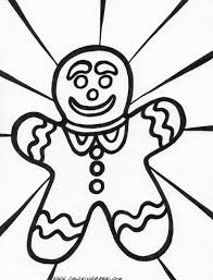 gingerbread coloring page get coloring pages