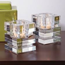 Crystal Candle Sconces Square Glass Candle Holder Square Glass Candle Holders Square