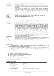 Call Center Job Description For Resume by Lead Business Analyst Resume Of Nitin Khanna