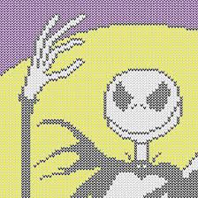 nightmare before christmas knitting charts free pdf downloads