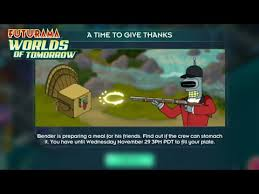 a time to give thanks futurama wot thanksgiving event 2017