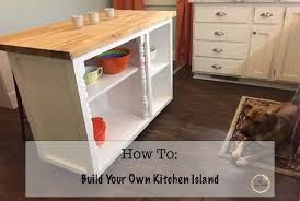 How To Build Your Own Kitchen Island Diy Build Your Own Kitchen Island U2014 The May Daily