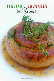 cuisine am ag en u sausages in wine sausage recipe simple tasty