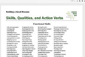 Power Verbs For Your Resume Example Of A Literature Review For A Dissertation Proposal Hotel