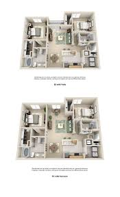 3 Bedroom Apartments Floor Plans by 1 2 U0026 3 Bedroom Apartments Estancia Luxury Apartments