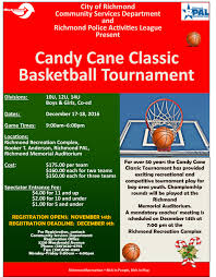 sweet candy cane classic basketball tournament set for dec 17 18