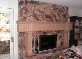 unfinished fireplace mantel home design awesome gallery at