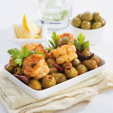 Indian Food Olives From Spain Pimento Stuffed Green Olive Balchao Goan Style Olives From