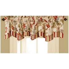 Lined Swag Curtains Decorating Cute Interior Windows Decor Ideas With Waverly Window