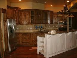 knotty alder cabinets eclectic kitchen u2014 modern home interiors