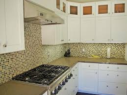 how to install glass mosaic tile backsplash in kitchen ideas glass mosaic tile backsplash home design and decor