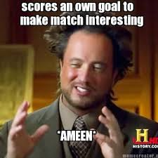 Make Memes Online - meme creator scores an own goal to make match interesting ameen
