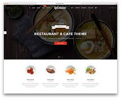element cuisine discount 40 best restaurant themes 2018 colorlib