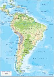 Latin America Map Blank by Central America Caribbean And South America Pipelines Map Crude