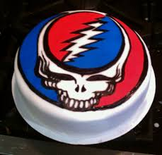 grateful dead cake cakes and crafts by kerry