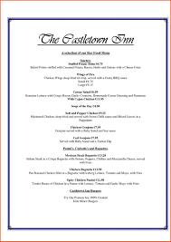 wedding drink menu template comfortable free bar menu template gallery exle resume ideas