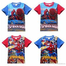 2017 boys t shirt cotton sleeved t shirt printing