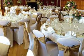 table chair covers room drapes chair cover hire for wedding venues