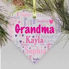 grandparent ornaments personalized personalized family christmas ornaments giftsforyounow