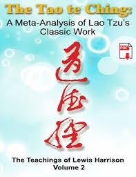 the tao te ching a meta analysis of lao tzu u0027s classic work pdf
