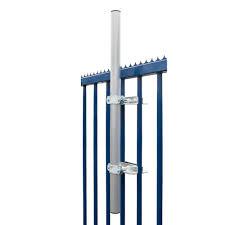 satellitensch ssel halterung balkon premiumx sat klemmhalter mit schelle 100 cm ø 48 mm stahl mast