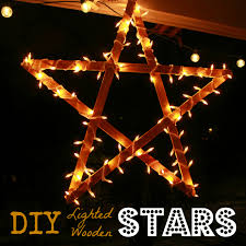 shining lighted christmas star decoration astonishing outdoor