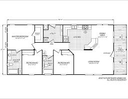 2000 Fleetwood Mobile Home Floor Plans Festival Ii 24563p Fleetwood Homes