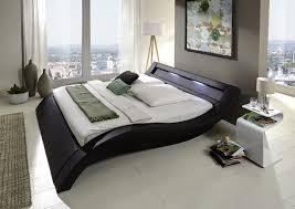 design polsterbett design polsterbett schwarz 120 x 200 cm lora mit led