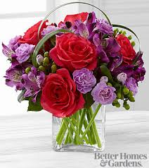 the ftd be bold bouquet by better homes and gardens vase included