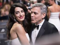 is amal clooney hair one length george and amal clooney welcome twins ella and alexander
