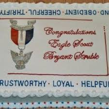 eagle scout cake topper 50 boy scout cake ideas happiness is