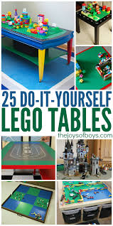 25 diy lego tables the entire family will love