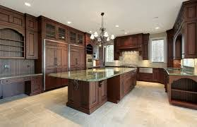 Flooring Options For Kitchen Wooden Kitchen Flooring Options With Beautiful Chandeliers