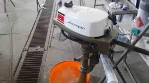 johnson 1973 2hp outboard motor restored 2r73b youtube