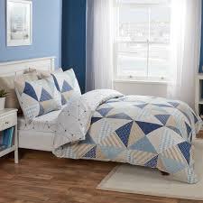 leon blue easy living reversible bed set julian charles