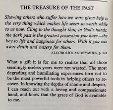 treasure of the past alcoholics anonymous p 124 addiction