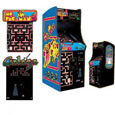 Ms Pacman Cabinet Ms Pac Man Galaga Arcade Game Arcade Games The Great Escape