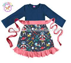 latest designs nutcracker printed christmas dress wholesale for