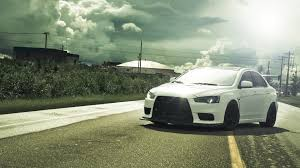 white mitsubishi lancer photo collection wallpaper 1920x1080 mitsubishi lancer