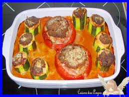 la cuisine de mamy tomates farcies de mamy henriette la cuisine des anges